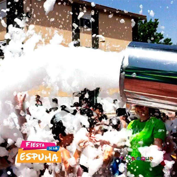Servicio fiesta de la espuma en Málaga