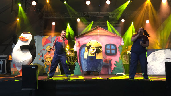 Cantajuego en directo en Málaga