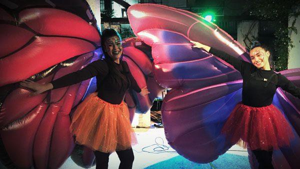 Pasacalles - La danza de las mariposas