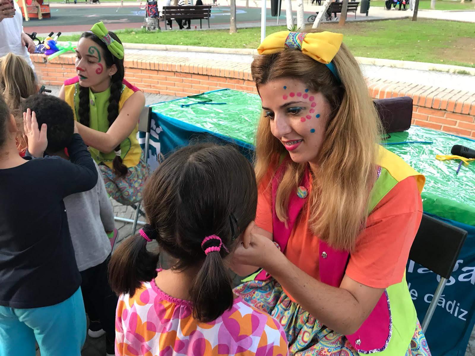 Taller de pintacaras infantil en Málaga