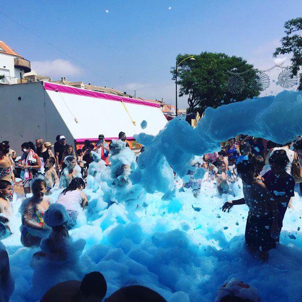 Fiesta espuma