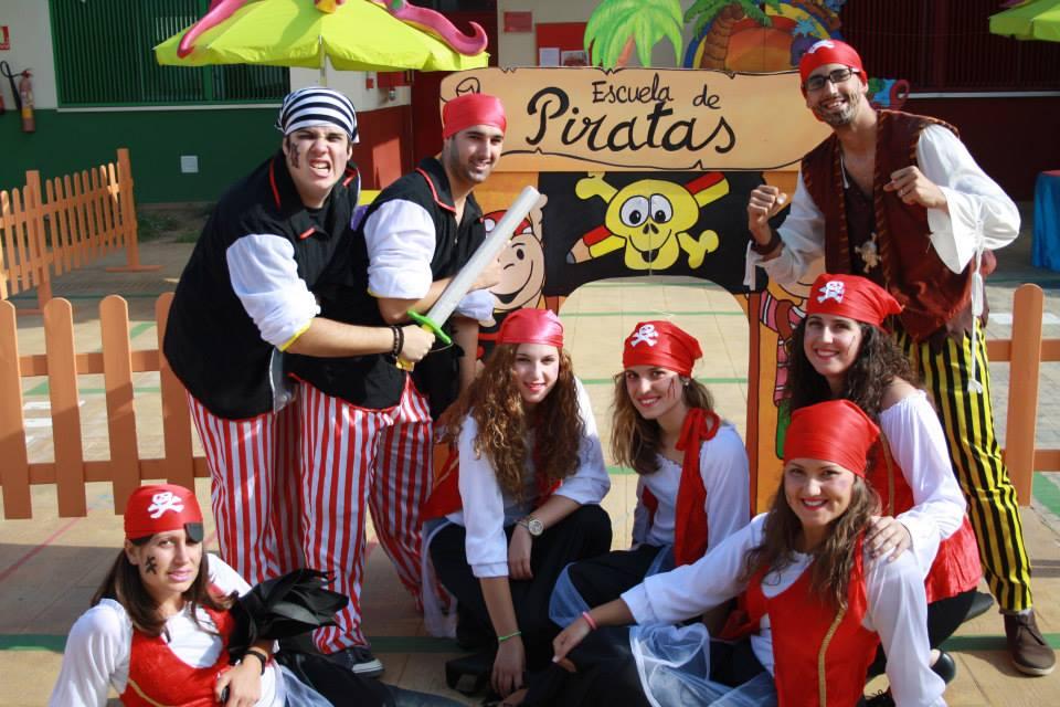 Actividad escolar escuela de piratas
