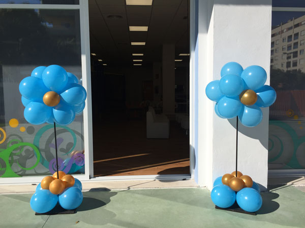 Decoración con globos - Elementos