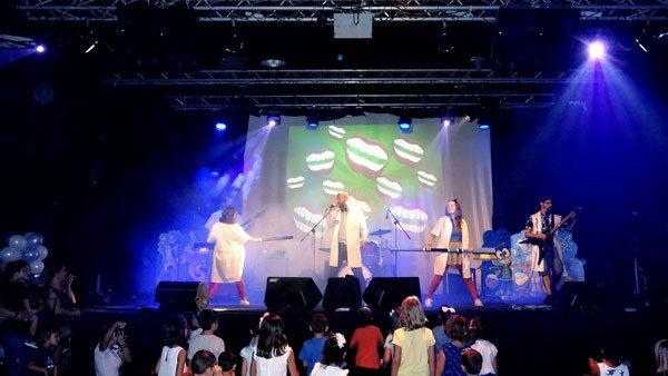 Rock infantil en directo - Quimi Rock