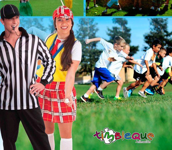 Animación deportiva