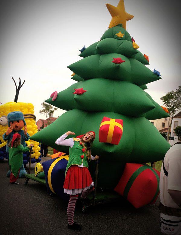 Pasacalles - Árbol de Navidad