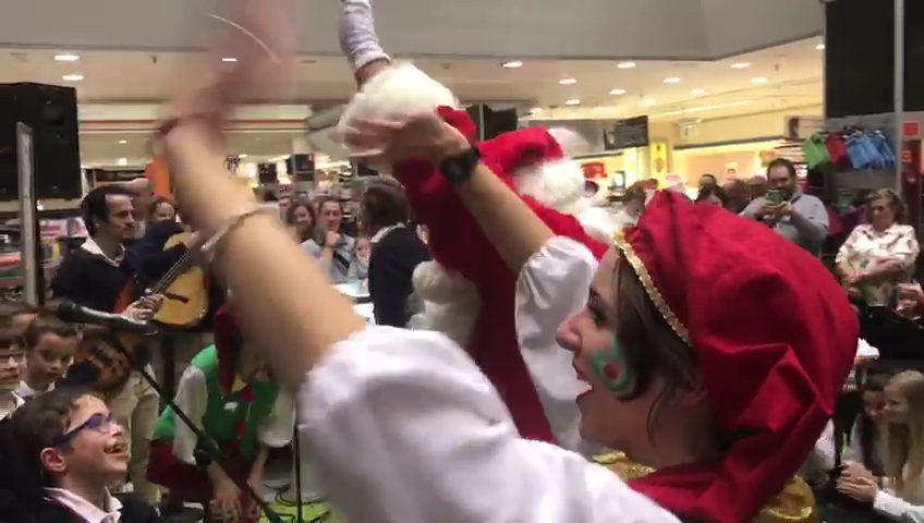 Inaguración Navidad El Corte Inglés
