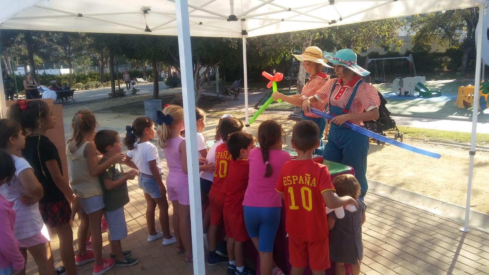 Actividades concienciación ayuntamiento de Málaga